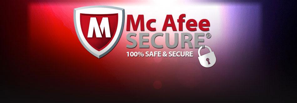 Safe and Secure Mc Afee